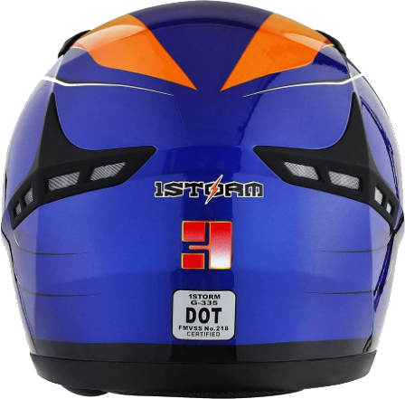 1STORM Motorcycle Bike Full FACE Helmet Booster Iron Man