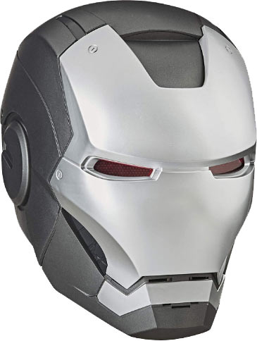 Avengers Hasbro Marvel Legends Series War Machine Roleplay Premium Collector Electronic Helmet