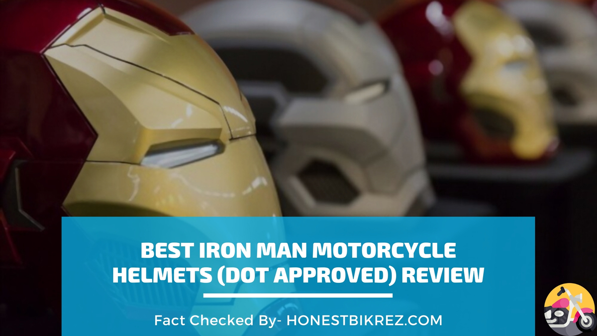 Best Motorcycle Iron Man Helmets