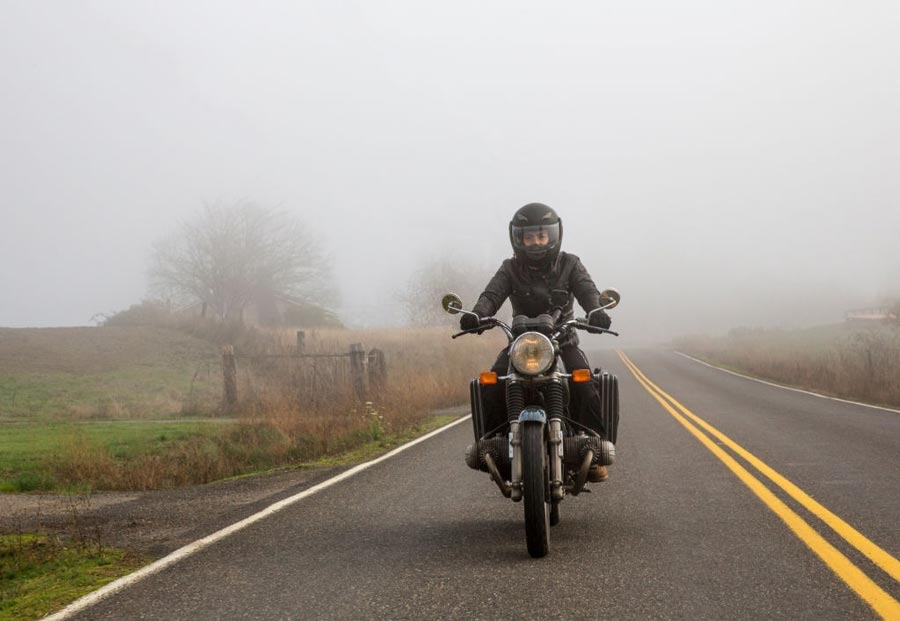 Cold Weather Motorcycle Riding