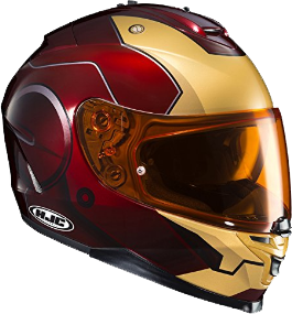 HJC Helmets Marvel IS-17 IRONMAN Street Motorcycle Helmet
