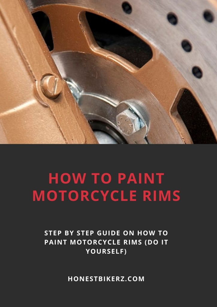 How to paint motorcycle rims