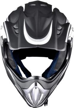 AHR H-VEN20 DOT Outdoor Adult Full Face MX Helmet