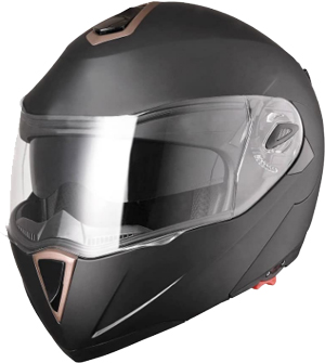AHR Run-M Full Face Flip up Modular Motorcycle Helmet