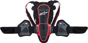 Alpinestars Men's Nucleon KR-3 Motorcycle Back Protecto