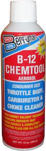 B-12 Chemtool Carburetor- Choke and Throttle Body Cleaner