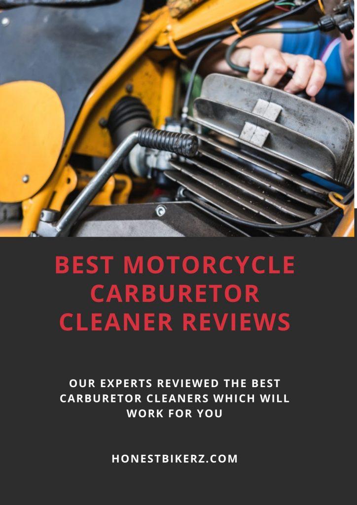 Best Motorcycle Carburetor Cleaner Reviews