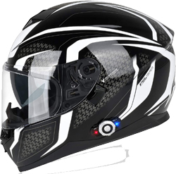 Bluetooth-Motorcycle-Helmet-FreedConn-DOT-Full-Face-Bluetooth-Helmets