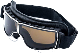 Cynemo Motorcycle Goggles Vintage Pilot Leather Riding Glasses