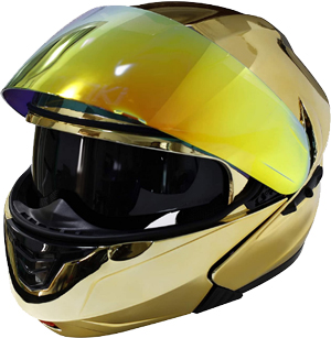 NENKI NK-815 Modular Flip Up Full Face Motorcycle Helmet
