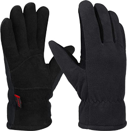 OZERO Waterproof Winter Gloves for Men & Women