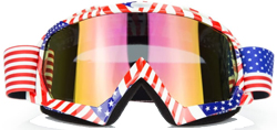 Pink Motocross Motorcycle Goggles