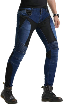 Summer Mesh Motorcycle Riding Jeans