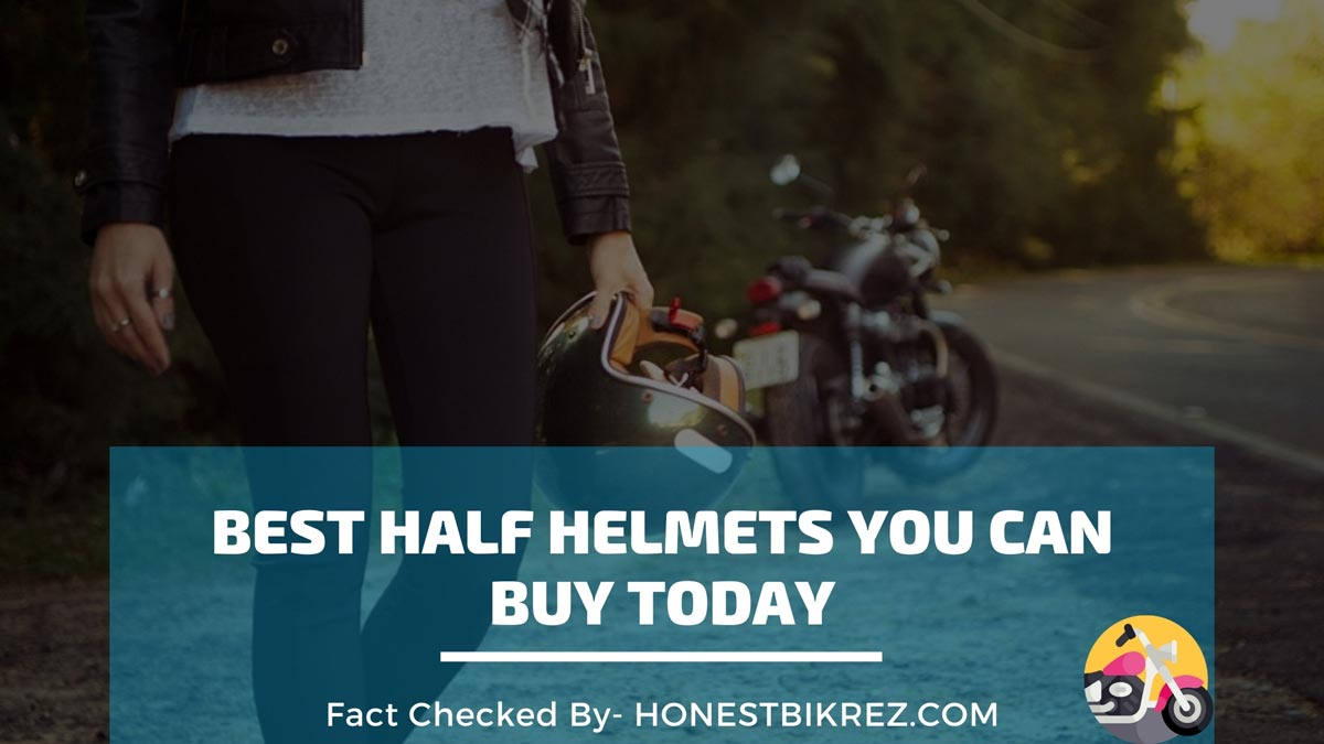 Best Half Helmets for Motorcycle in 2021