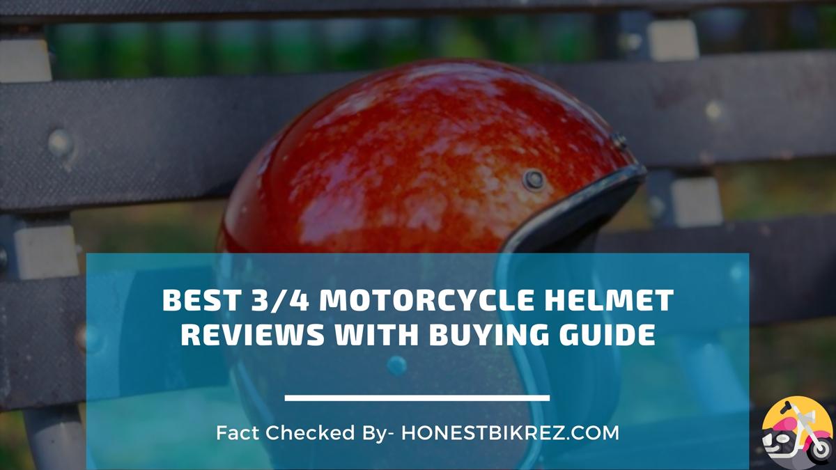 Best 3/4 Motorcycle Helmet