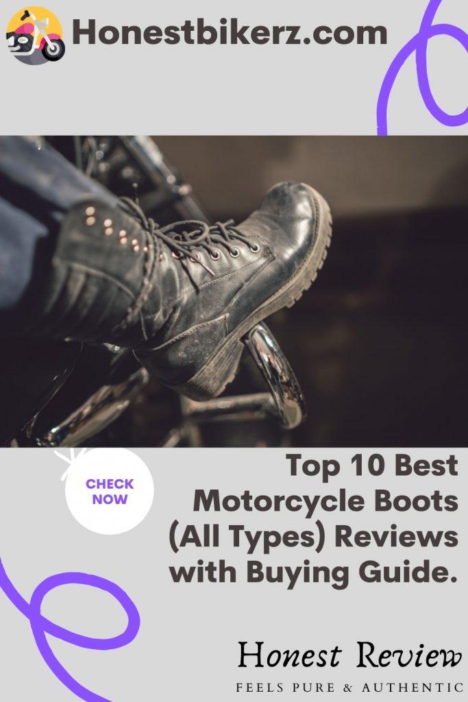 Top Best Motorcycle Boots for men in 2021