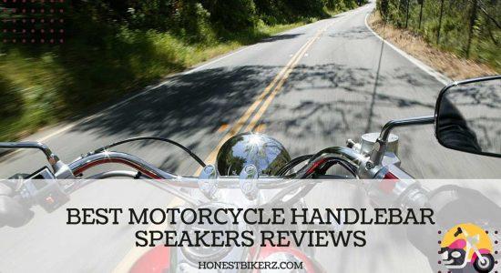 Top 10 Best Motorcycle Handlebar Speakers Reviews in 2021 with Buying Guide