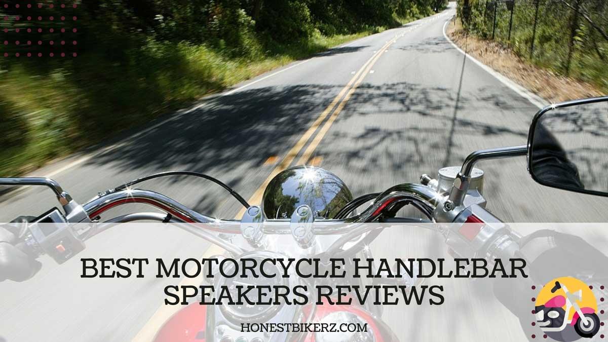 Best Motorcycle Handlebar Speakers Reviews