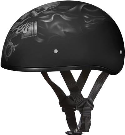 Daytona-Helmets-Motorcycle-Half-Helmet-Skull-Cap