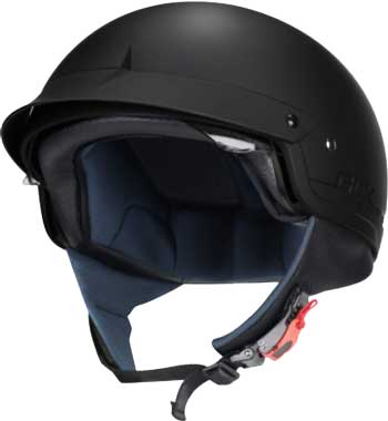 GLX-Unisex-Adult-Size-M14-Cruiser-Scooter-Motorcycle-Half-Helmet