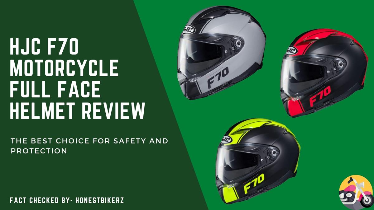 HJC F70 Motorcycle Full Face Helmet Review