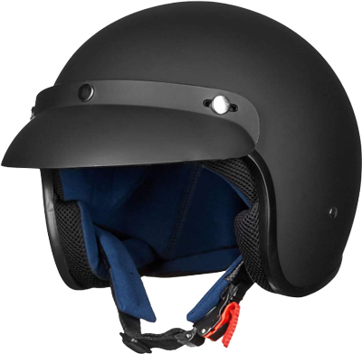 ILM-Open-Face-Motorcycle-Retro-Half-Helmet