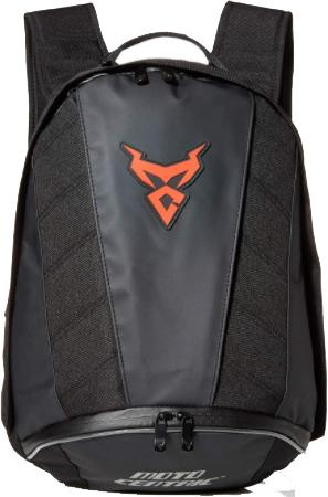 MotoCentric Motorcycle Leather Waterproof Backpack