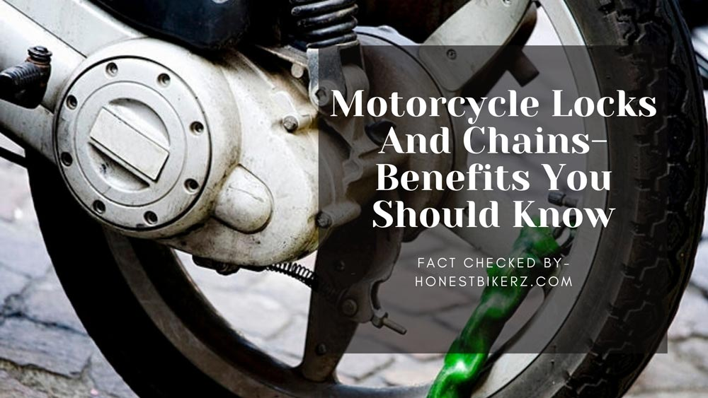 Motorcycle Locks and Chains in 2021