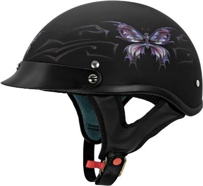VCAN-Cruiser-Intricate-Butterfly-Motorcycle-Half-Helmet