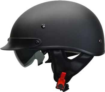 Vega-7800-055-Warrior-Half-Helmet-for-Bike-Cruiser-Chopper-Moped-Scooter