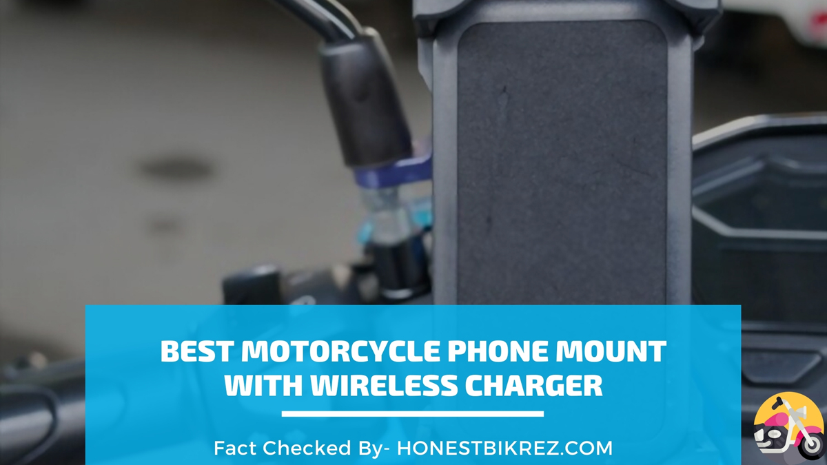 best motorcycle phone mount with wireless charger