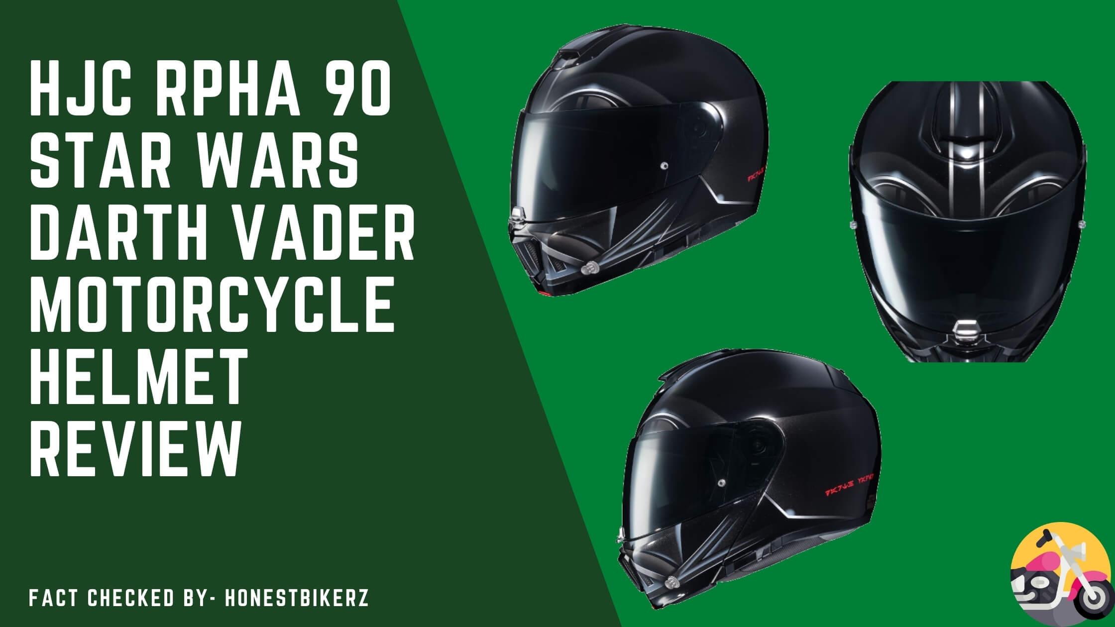 HJC RPHA 90 Star Wars Darth Vader Motorcycle Helmet Review