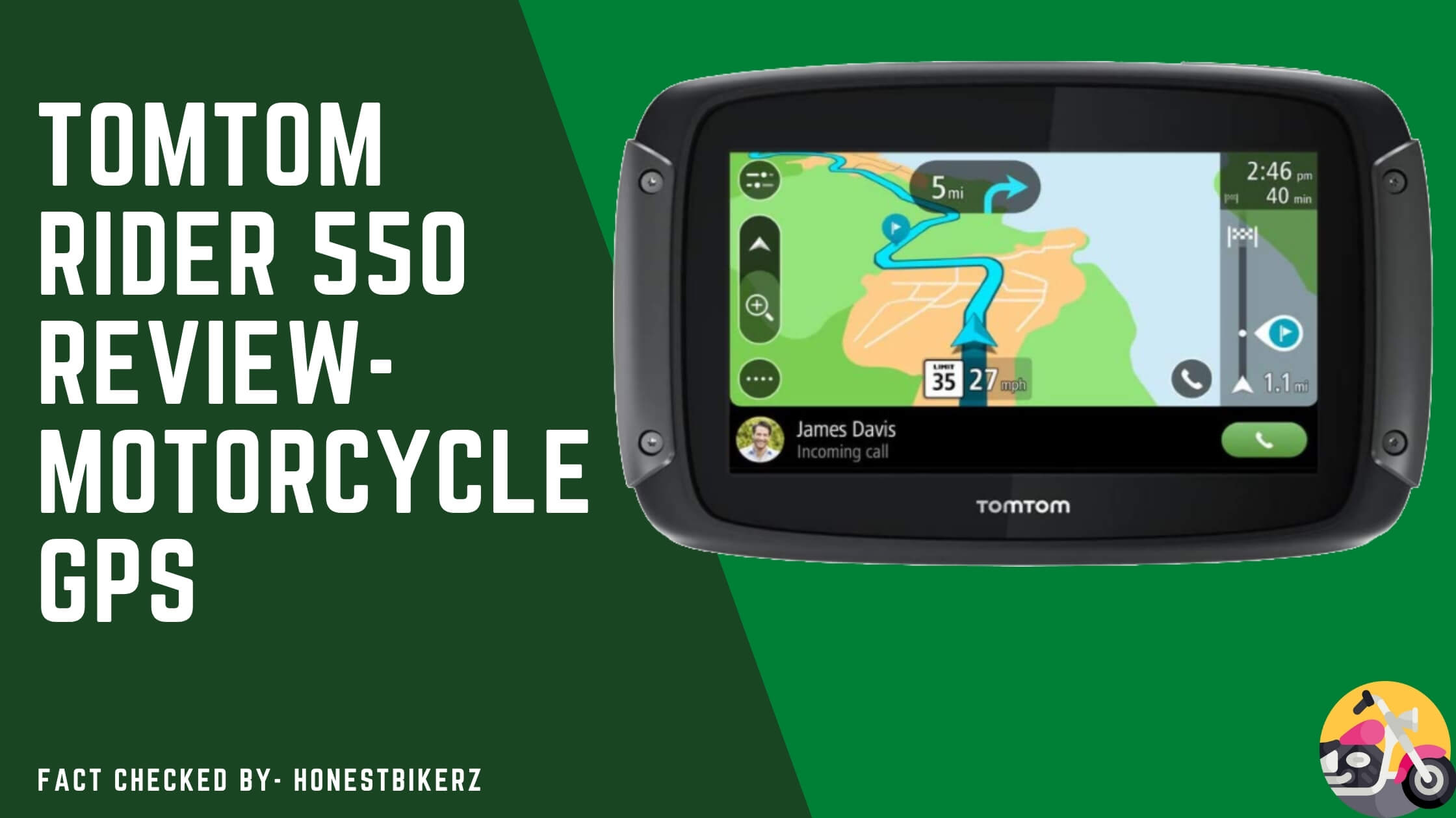 Tomtom Rider 550 Review- Best Motorcycle GPS