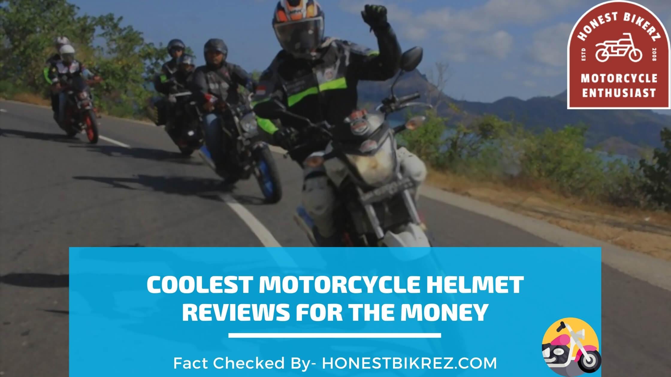 Coolest Motorcycle Helmet Reviews