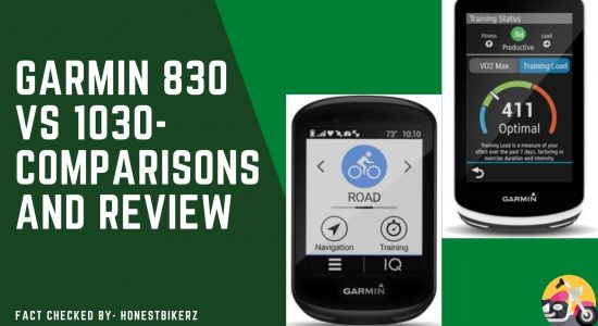 Garmin 830 Vs 1030- Which one is Best for Buy?