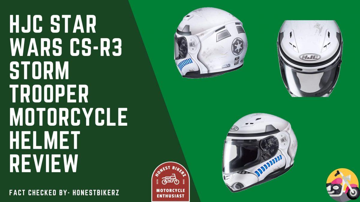 HJC Star Wars CS-R3 Storm Trooper Motorcycle Helmet Review
