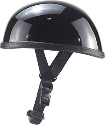 Hitdudu low profile harley motorcycle half helmet
