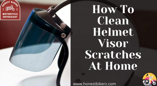 How To Clean Helmet Visor Scratches at Home in 2021 (Best method of cleaning visor)