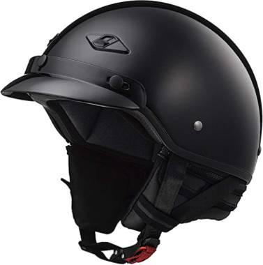 LS2 Bagger Motorcycle Half Helmet