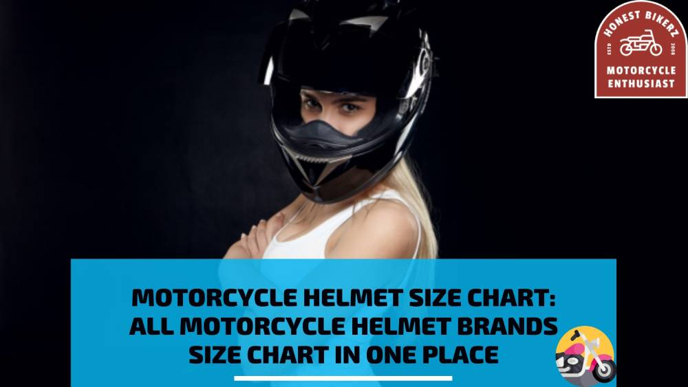 Motorcycle Helmet Size Chart All Motorcycle Helmet Brands Size Chart In One Place
