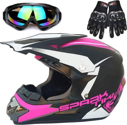 Wangbadan Powersports Motorcycle Helmet