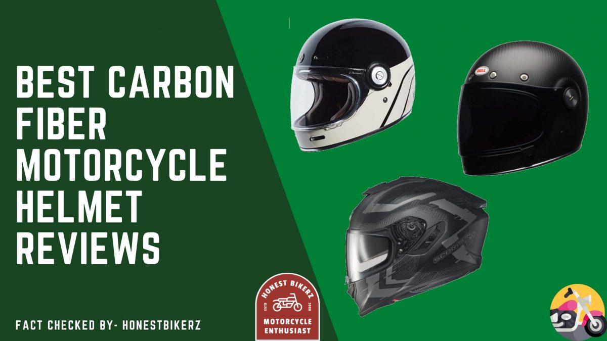 best carbon fiber motorcycle helmet