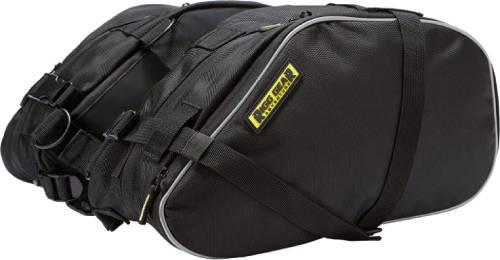 Nelson-Rigg Black Dual Sport Enduro Saddlebags