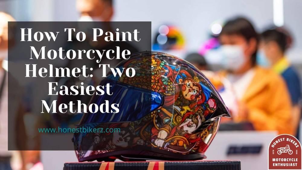 Paint Motorcycle Helmet