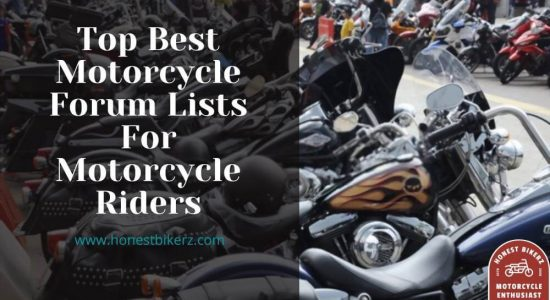 Top Best Motorcycle Forum Lists for Motorcycle Riders in 2021